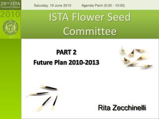 ISTA  Flower Seed Committee