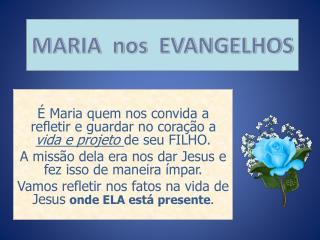 MARIA  nos  EVANGELHOS