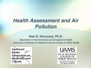 Health  Assessment and  Air Pollution