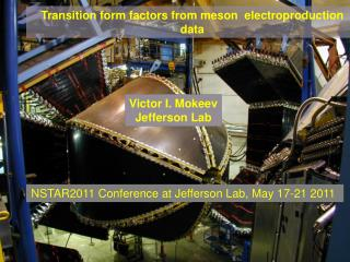 Transition form factors from meson   electroproduction   data
