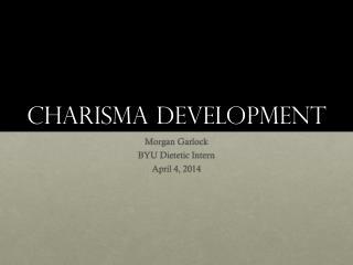 Charisma Development