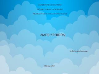UNIVERSIDAD DE LOS ANDES VICERRECTORADO ACÁDEMICO PROGRAMA DE ACTUALIZACIÓN DOCENTE