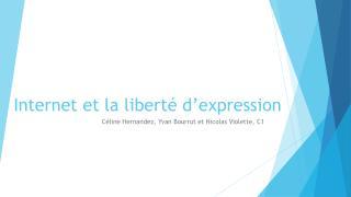 Internet et la liberté d'expression