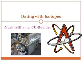 Dating with Isotopes