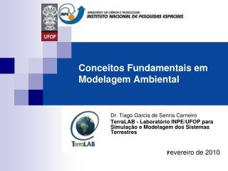 Conceitos Fundamentais em Modelagem Ambiental