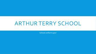 Arthur terry school