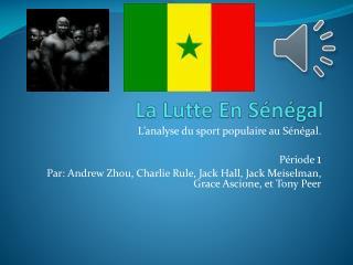 La Lutte En Sénégal