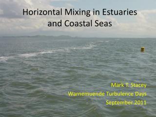 Horizontal Mixing in Estuaries and Coastal Seas