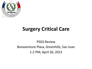 Surgery Critical Care