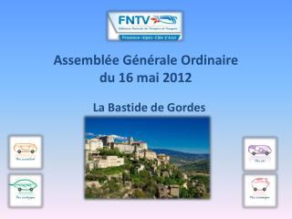Assemblée Générale Ordinaire  du 16 mai 2012