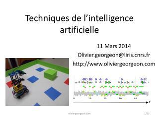 Techniques de l'intelligence artificielle