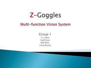 Z -Goggles