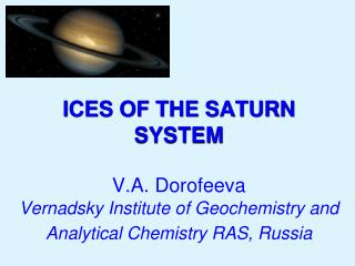 Water ice in the Solar system has two major characteristics: structure and D/H ratio.