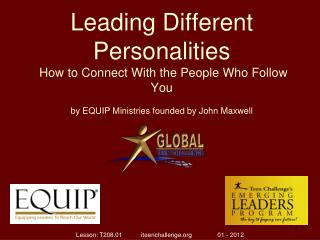 Leading Different Personalities How to Connect With the People Who Follow You