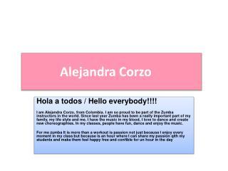 Alejandra Corzo