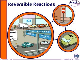 Irreversible reactions