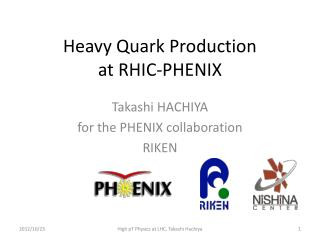 Heavy Quark Production  at  RHIC-PHENIX