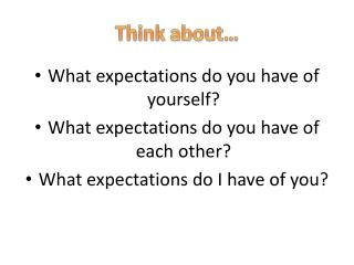 Think  about�