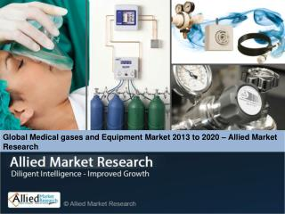Global Medical gases and Equipment Market (Product, End User
