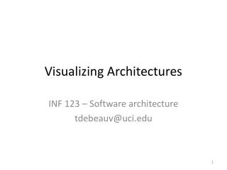 Visualizing Architectures