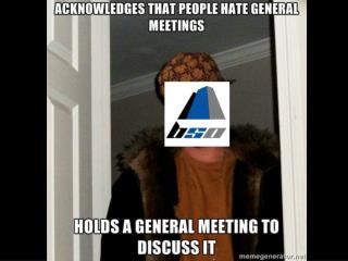 BSO General Meeting - Main Focus