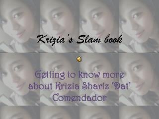 Krizia's  Slam book