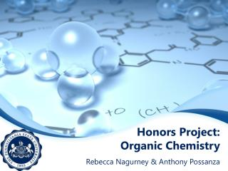 Honors Project:  Organic Chemistry