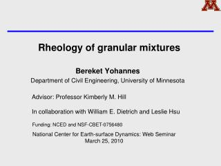 Rheology of granular mixtures
