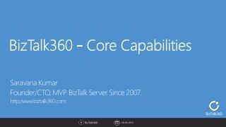 BizTalk360 - Core Capabilities
