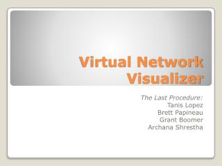 Virtual Network Visualizer