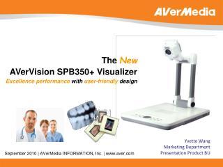 September 2010 | AVerMedia INFORMATION, Inc. | www.aver.com
