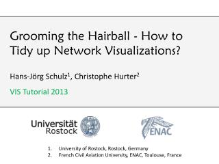 Grooming the Hairball - How to Tidy up Network Visualizations?