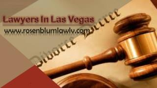 Lawyers In Las Vegas