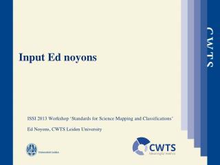 Input Ed  noyons