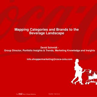Mapping Categories and Brands to the Beverage Landscape