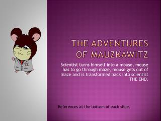 The Adventures of  Mauzkawitz