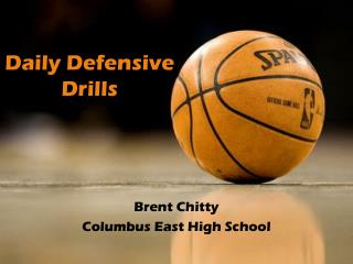 Daily Defensive  Drills