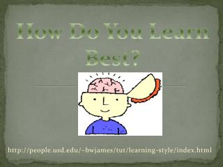 http://people.usd.edu/~bwjames/tut/learning-style/index.html