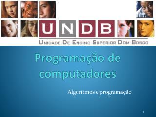 Programa��o de computadores