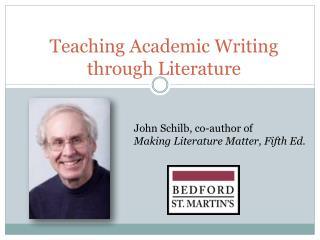 Teaching Academic Writing through Literature