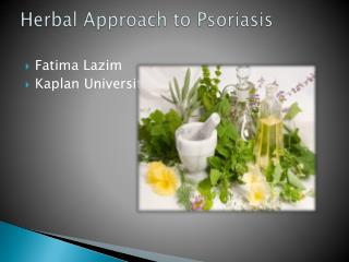 Herbal Approach to Psoriasis