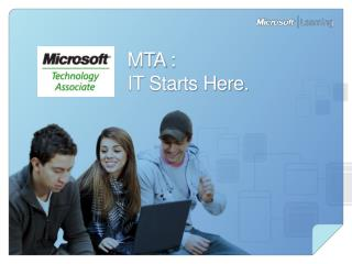 MTA :  IT Starts Here.