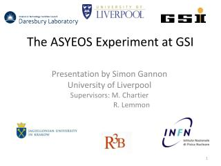 The ASYEOS Experiment at GSI