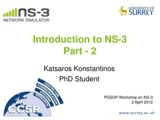 Introduction to NS-3 Part - 2