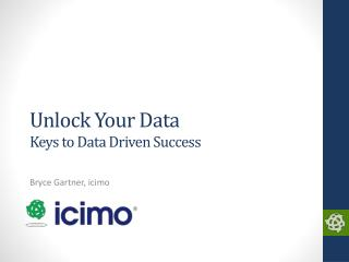 Unlock Your Data Keys to Data Driven Success