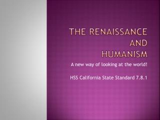 HUMANISM