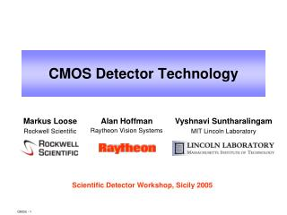CMOS Detector Technology