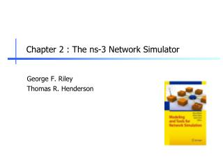 Chapter  2  :  The ns-3 Network Simulator