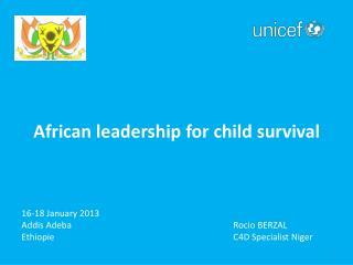 African leadership for child survival