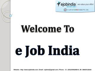 Ejob India - Kolkata's Best Software Training Institute
